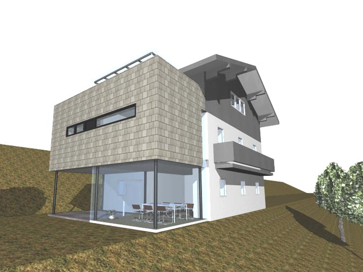 pin einfamilienhaus zweifamilienhaus haus mit. Black Bedroom Furniture Sets. Home Design Ideas